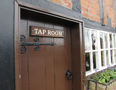 Tap Room The Holly Bush Little Leigh Cheshire